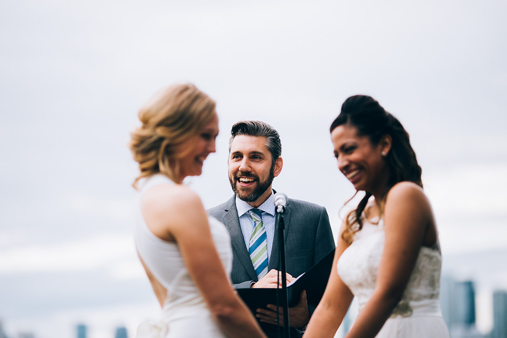 Toronto wedding officiant