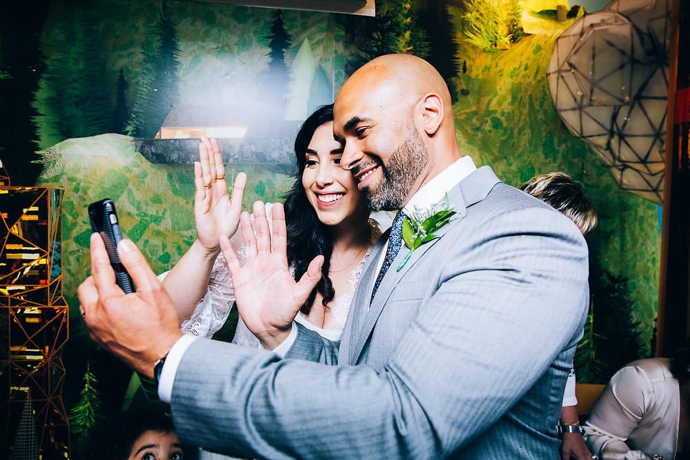 wedding selfies