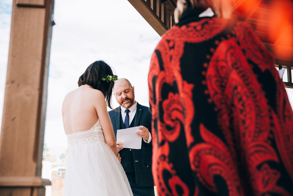 Toronto outdoor park wedding