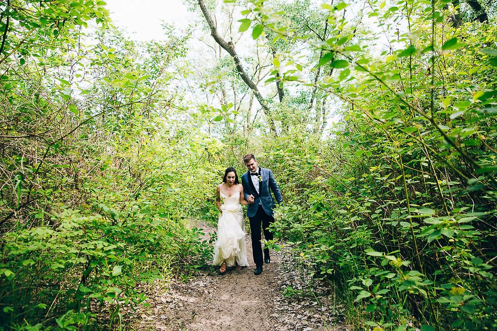 toronto island bride groom