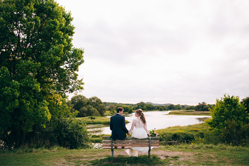 Grand River Cambridge Wedding