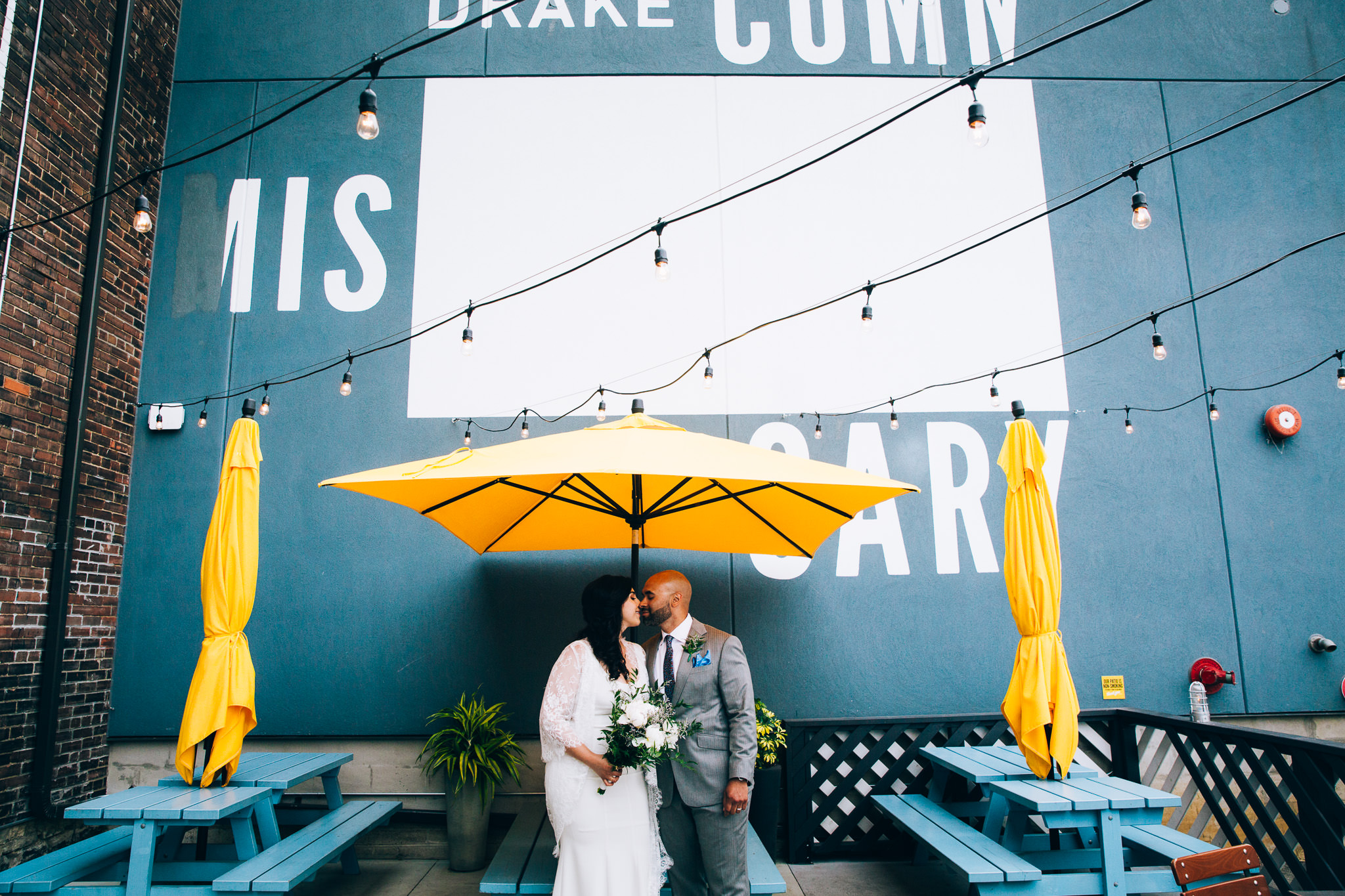 drake commissary wedding