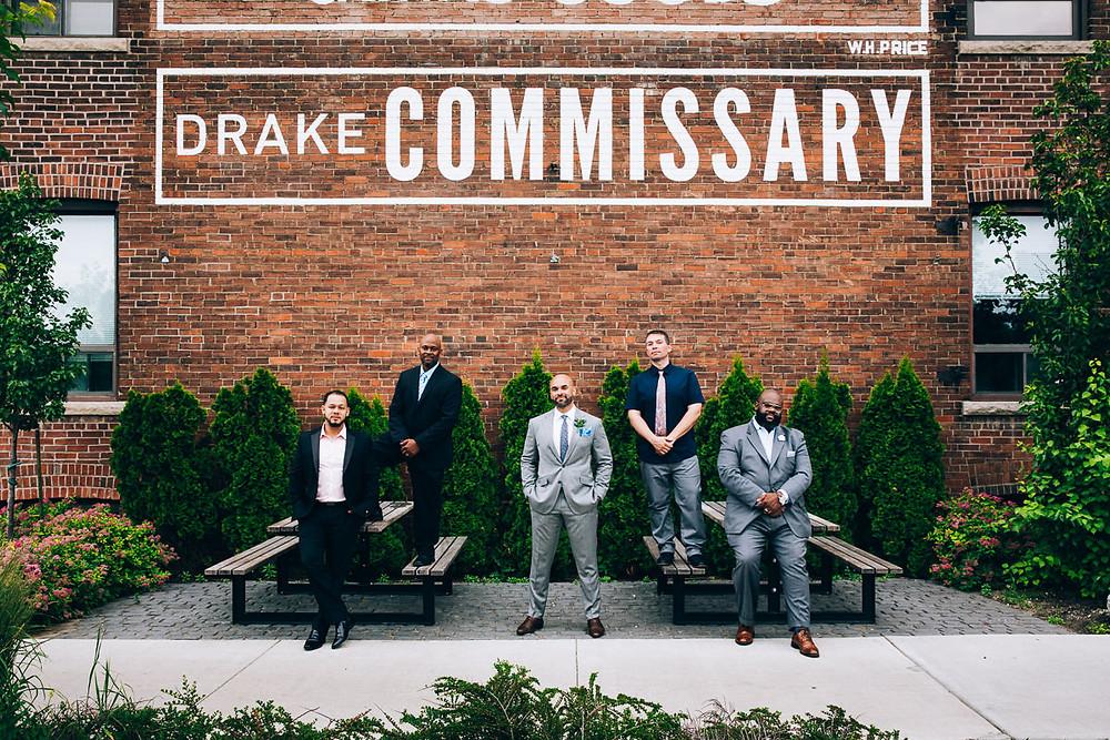 drake commissary wedding