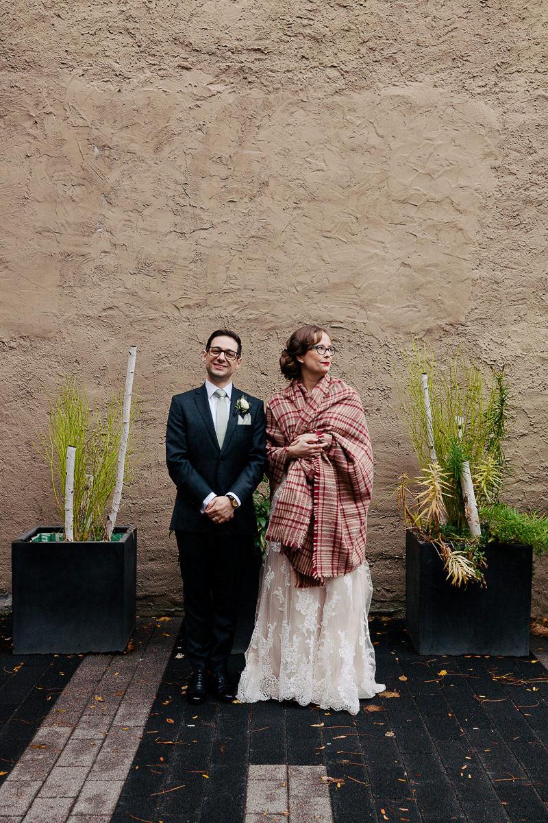 unique wedding portraits