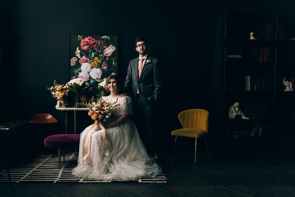 Toronto wedding portrait