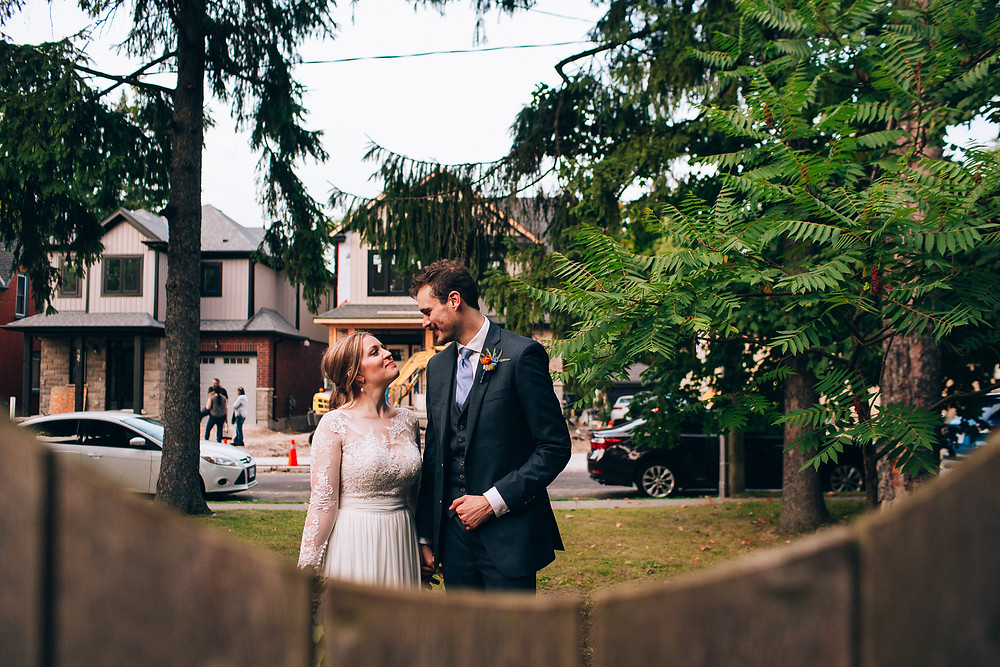Toronto Backyard Wedding