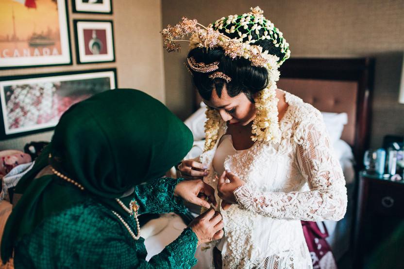 indonesian bride in Toronto