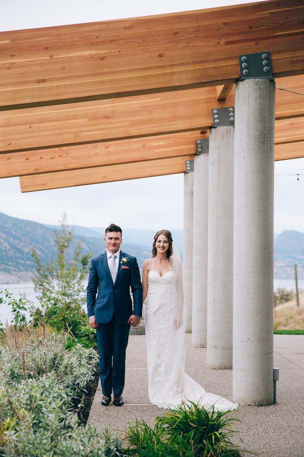 Okangan winery wedding