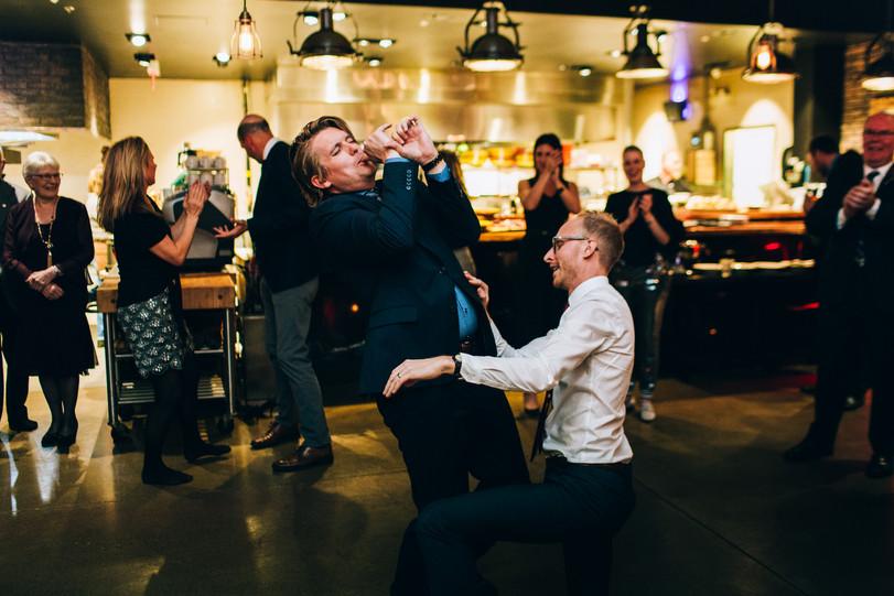 restaurant wedding Canada