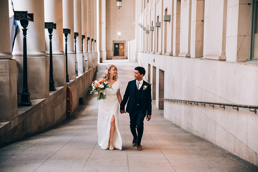 Toronto Union Station Wedding Portraits