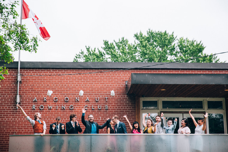 Toronto Argonaut rowing club wedding