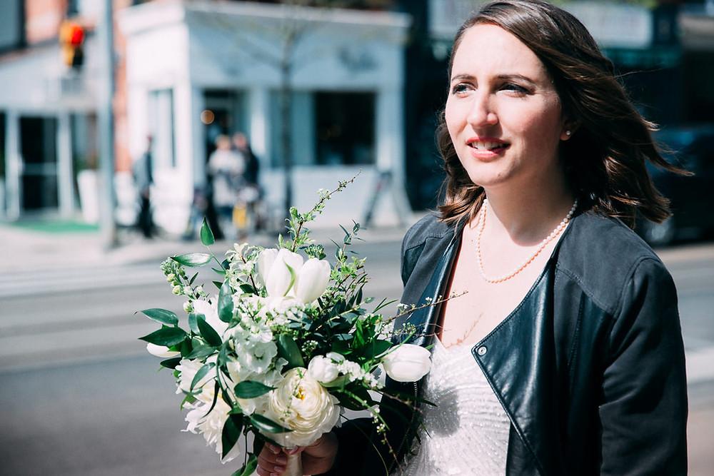 modern toronto bride