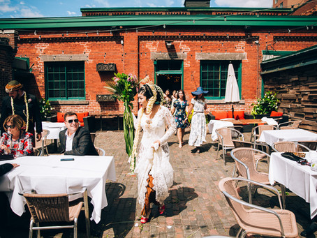 Arini & Mike's Archeo Wedding | Toronto Distillery District