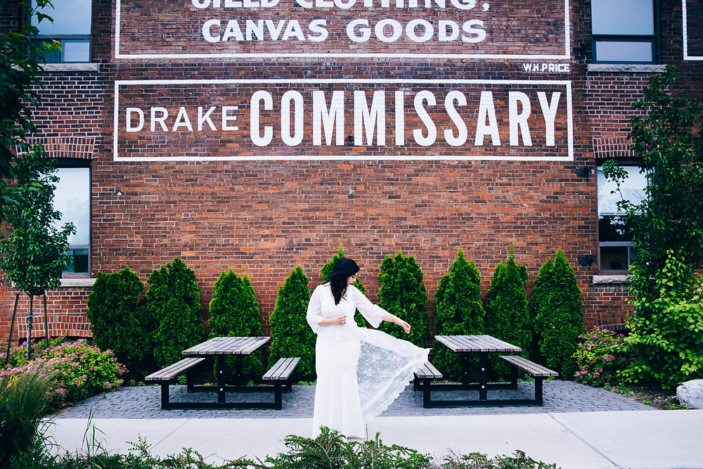 wedding at drake commissary