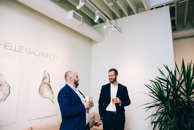Toronto art gallery wedding