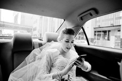 bride in taxi toronto