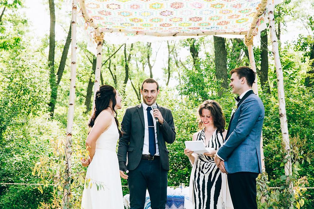 outdoor jewish wedding toronto