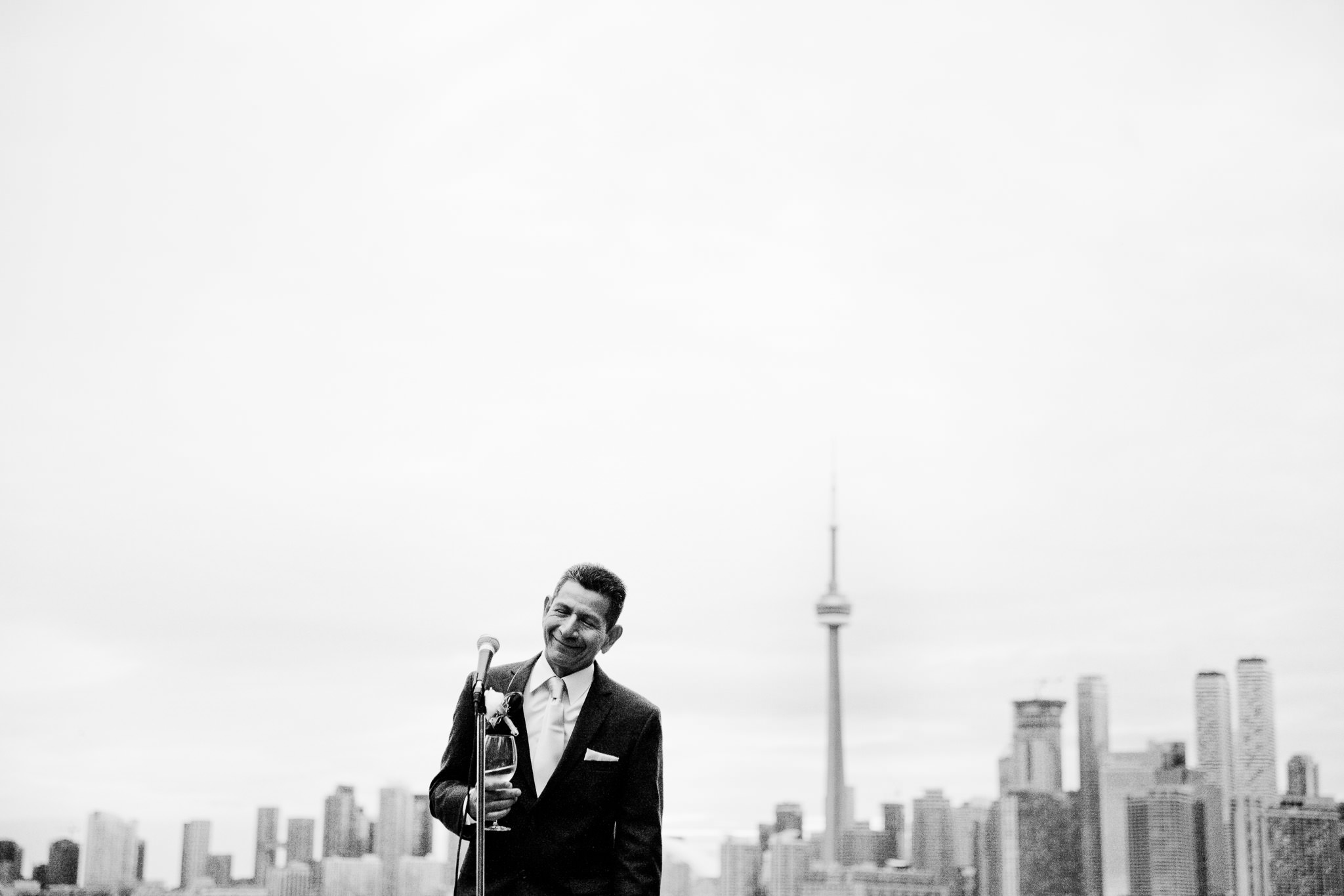 toronto island AIA wedding