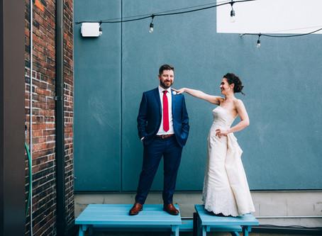 Alanna & Jacob's Drake Commissary Wedding | Toronto