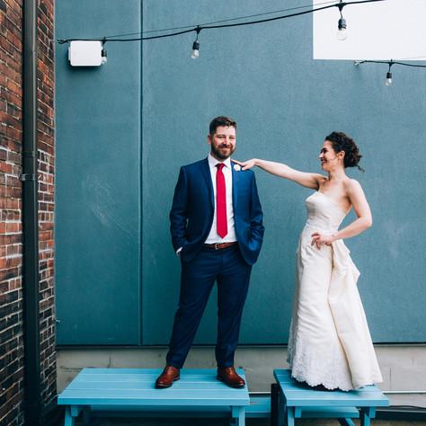 Alanna & Jacob's Drake Commissary Wedding   Toronto