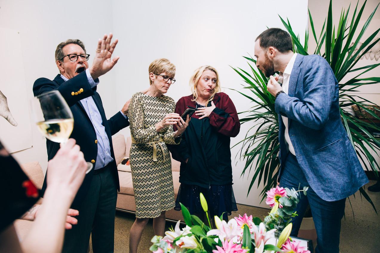 Art Gallery wedding Toronto