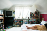 Andrea and her bedroom