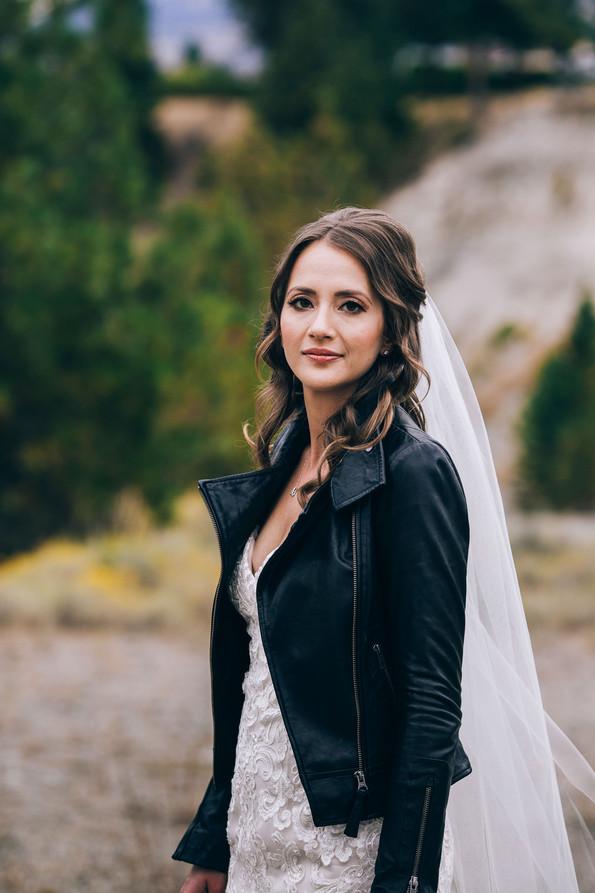 Bride portrait Kelowna BC