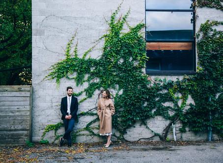 Paige & Michael's Art Gallery Wedding Reception | Junction, Toronto