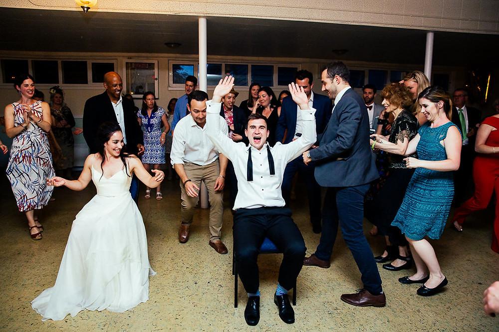 hora bride groom