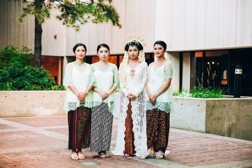 indonesian wedding party