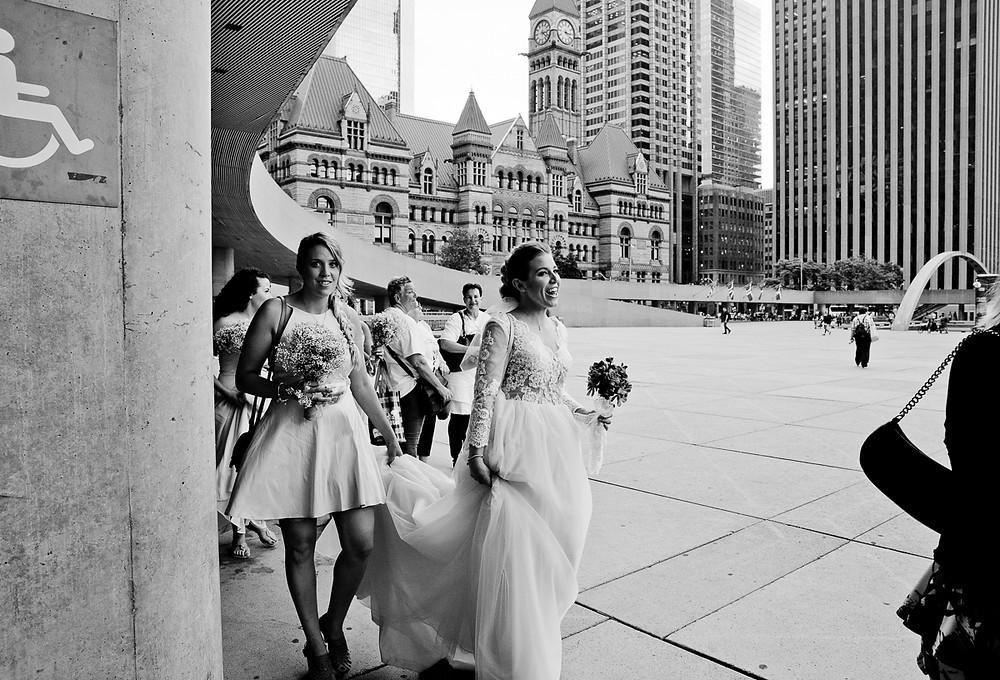 Weddings at Toronto City Hall