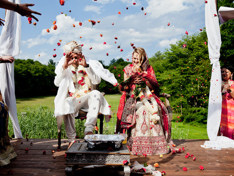 Elisha & Neil's Backyard Farm Wedding   Newburyport, Massachusetts