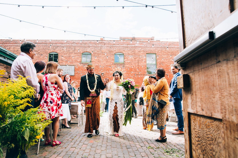 Archeo Toronto outdoor wedding