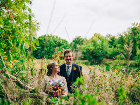 Katie & Philip's Grand River & Backyard Wedding   Cambridge