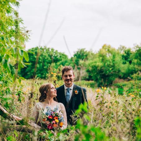 Katie & Philip's Grand River & Backyard Wedding | Cambridge