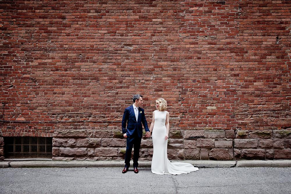 modern toronto wedding