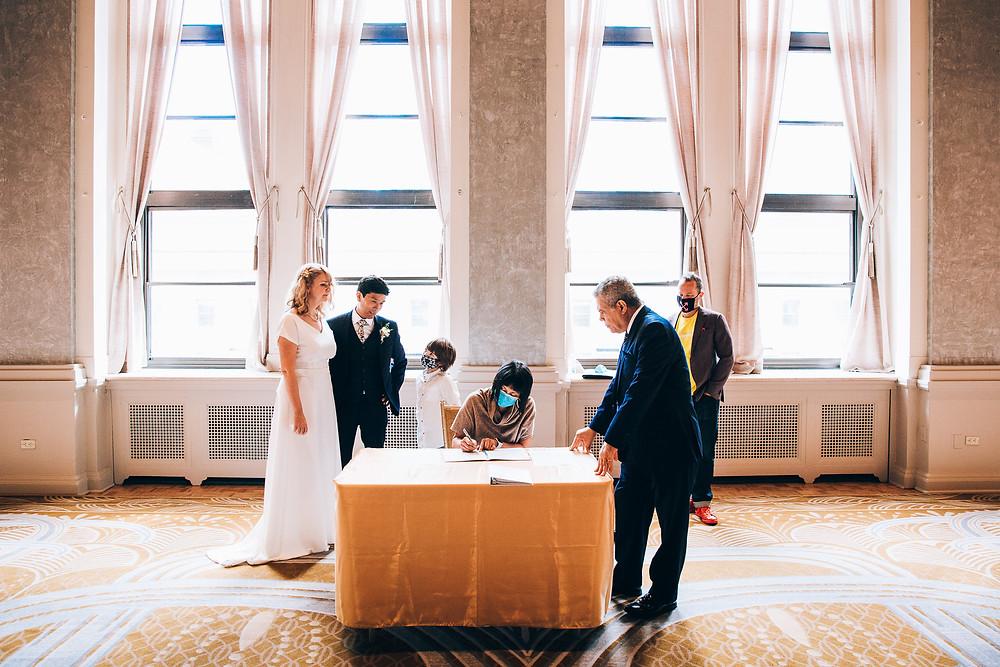 Toronto Covid wedding