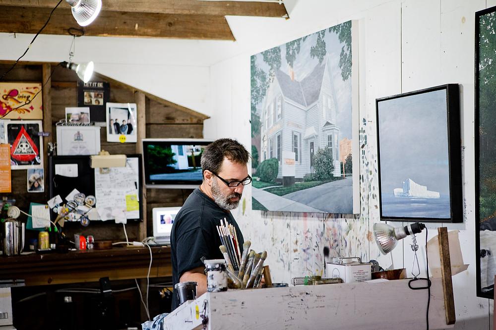 artist painter toronto documentary family photography