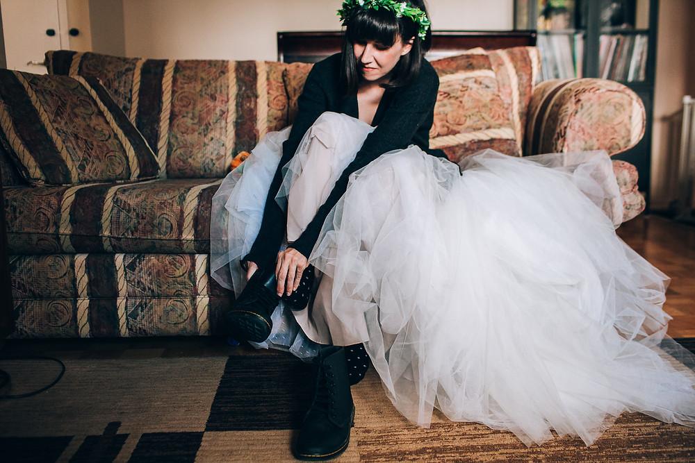 bride doc martens