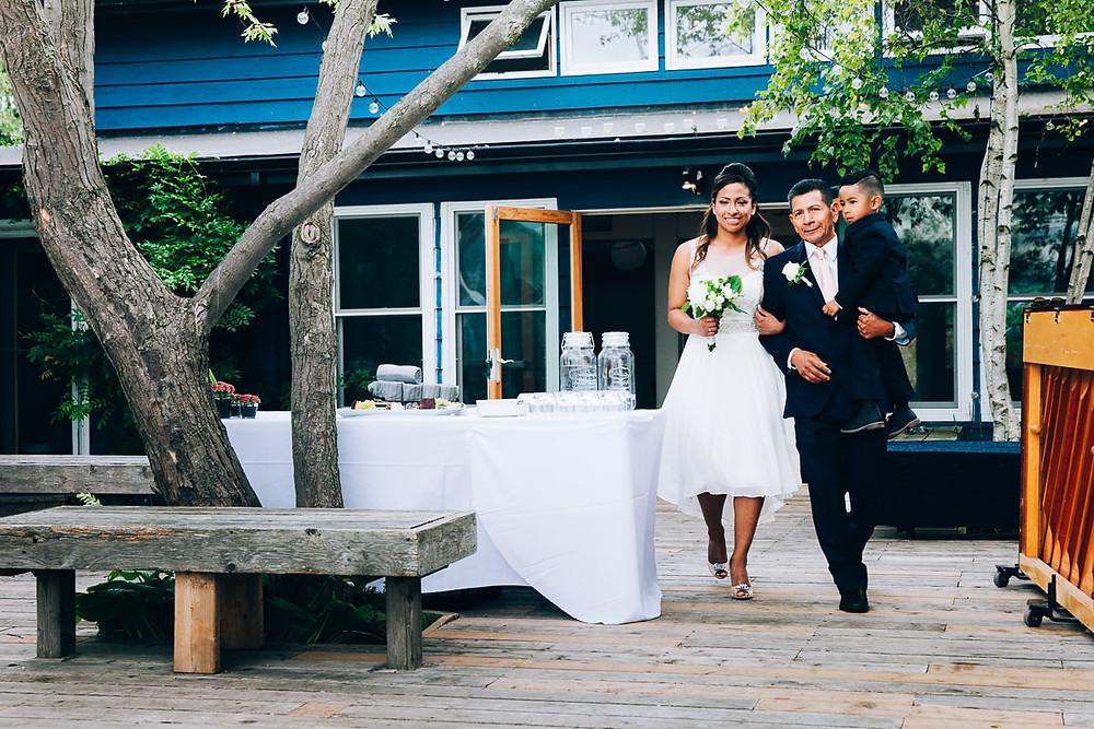 bride toronto island