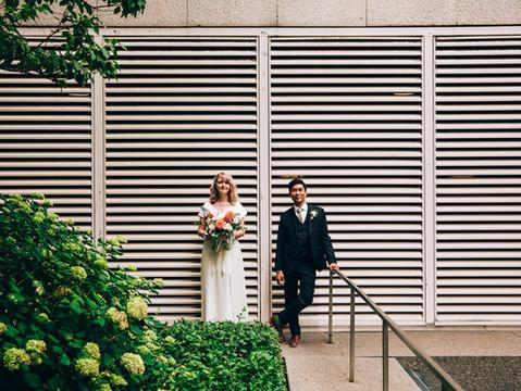 Christina & Adriano's Intimate Royal York Wedding | Toronto