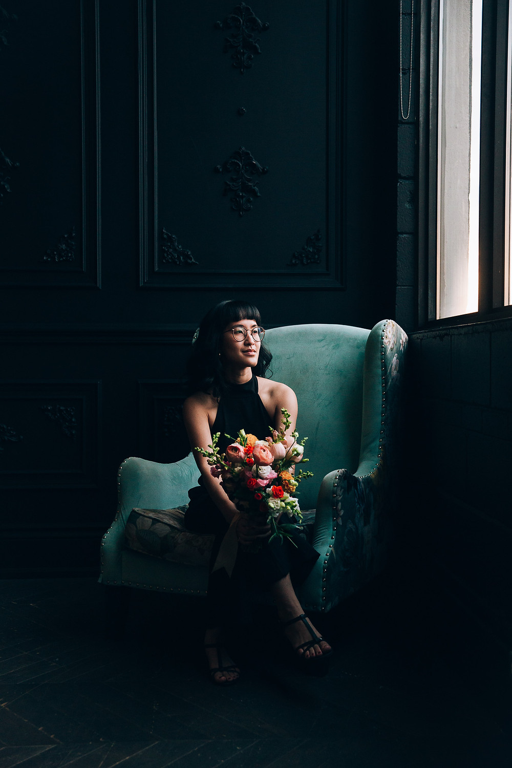 Wedding Portrait Mint Room Photography Studio Toronto Elopement