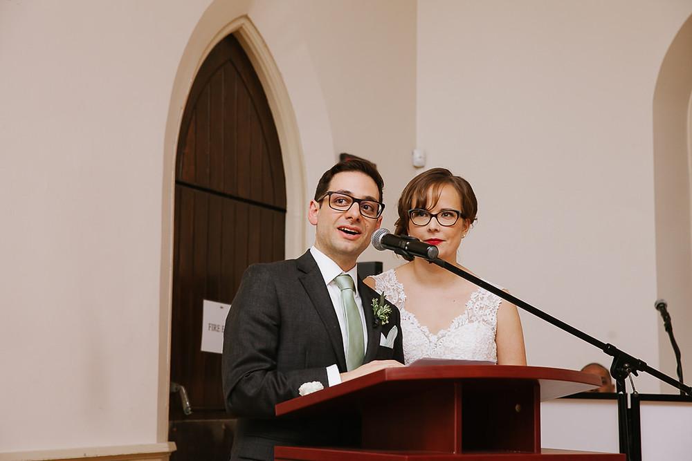 groom speech