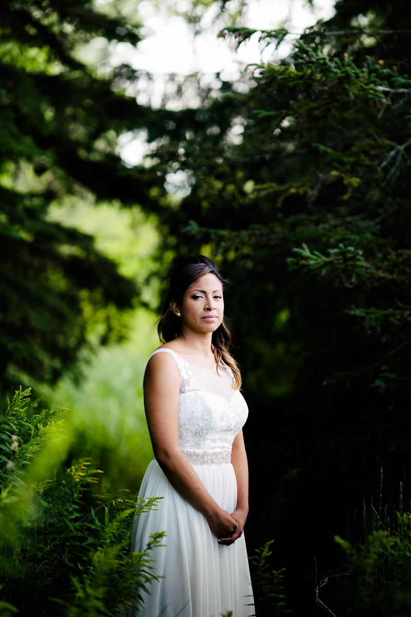wedding portrait on toronot island