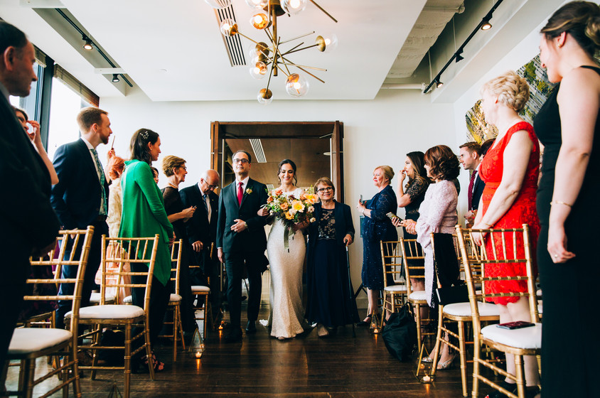 canoe toronto wedding