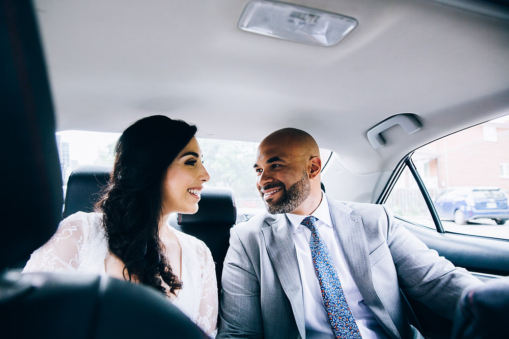 uber bride and groom toronto