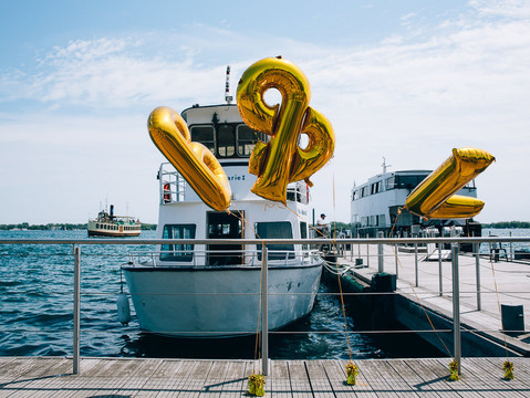Beatrice & Lars' Artscape Gibraltar Point Wedding | Toronto Island