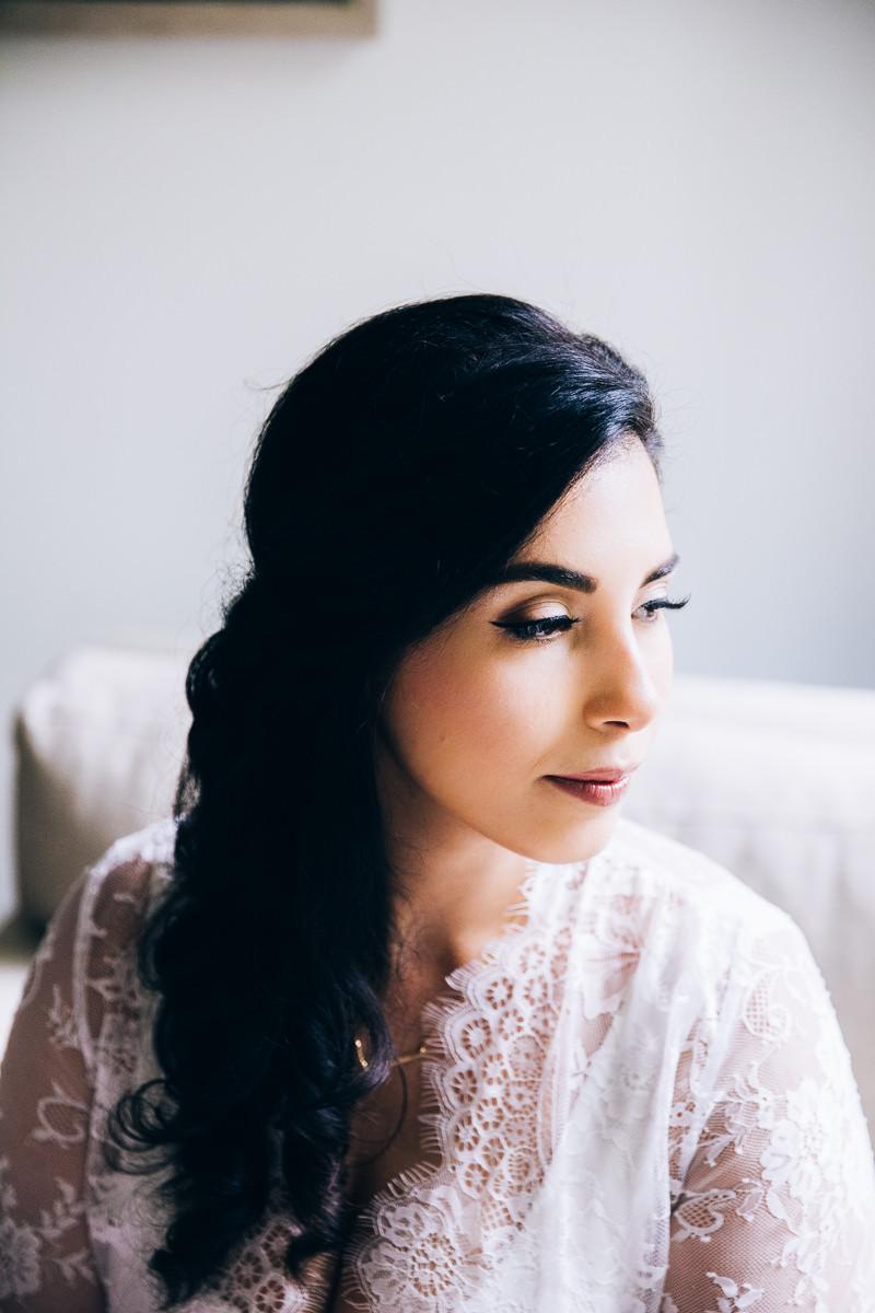 glamorous toronto bride