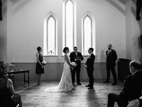 Joanna & Marcus' Downtown Toronto Wedding   Enoch Turner Schoolhouse