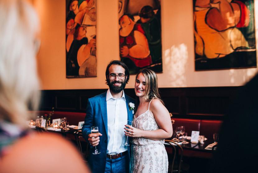 Le Selct Bistro wedding